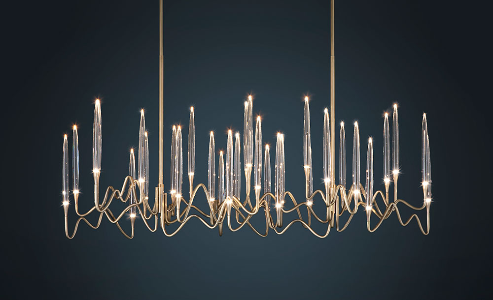 Il-Pezzo-3-Long-Chandelier-brass-and-crystal-by-Il-Pezzo-Mancante